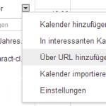 Kalender in Google Calendar importieren