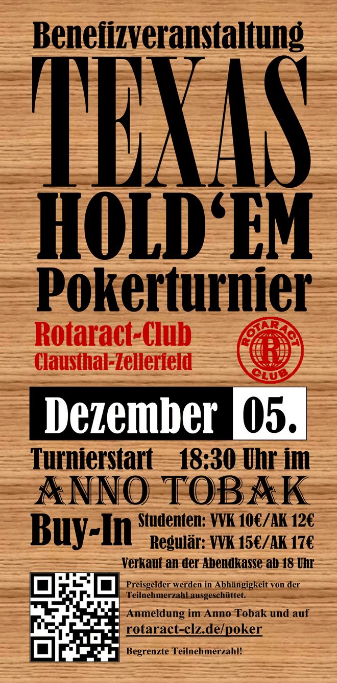 Pokerturnier am 5.12.