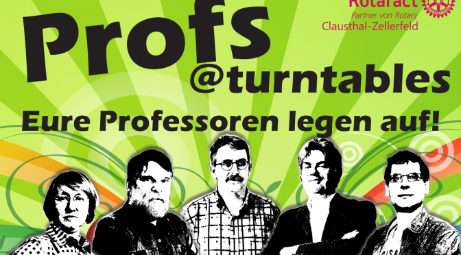 Profs@Turntables — Eure Professoren legen auf!