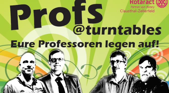 Profs@Turntables 2016 – Jetzt geht's los!