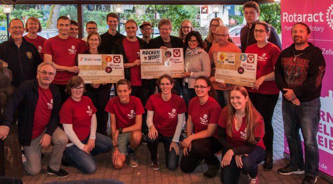 Spendensumme 16.800 € bei Glück in Dosen 2016!