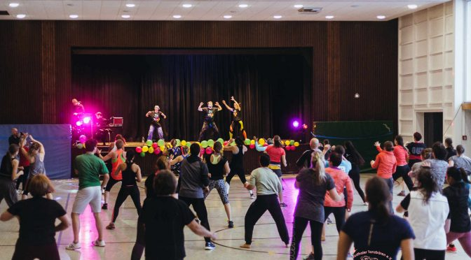 Zumbathon — Party on the Rocks